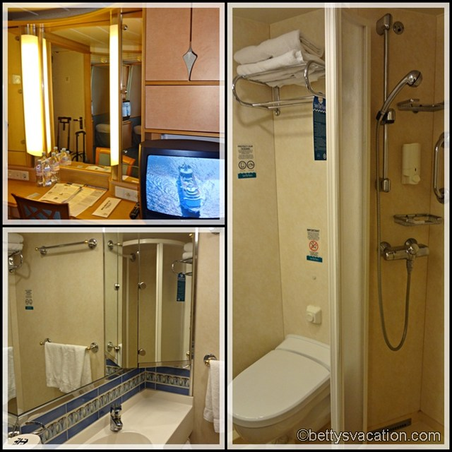 Collage Stateroom