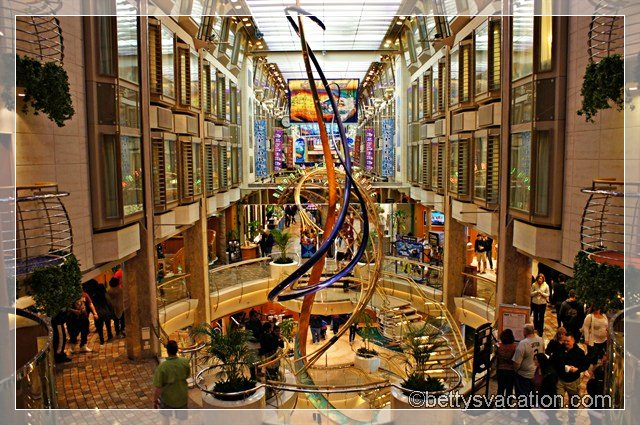 Explorer of the Seas Royal Promenade