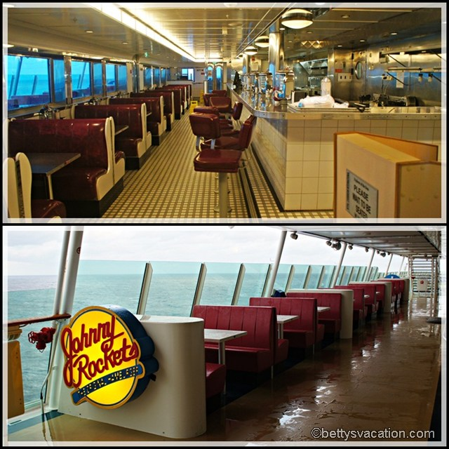 Johnny Rockets Collage