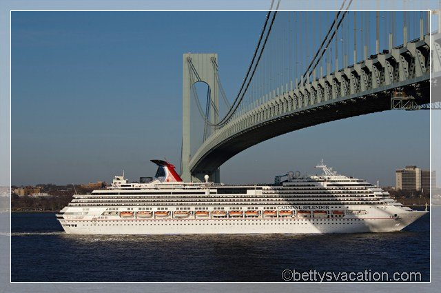 Carnival Splendor & Bridge
