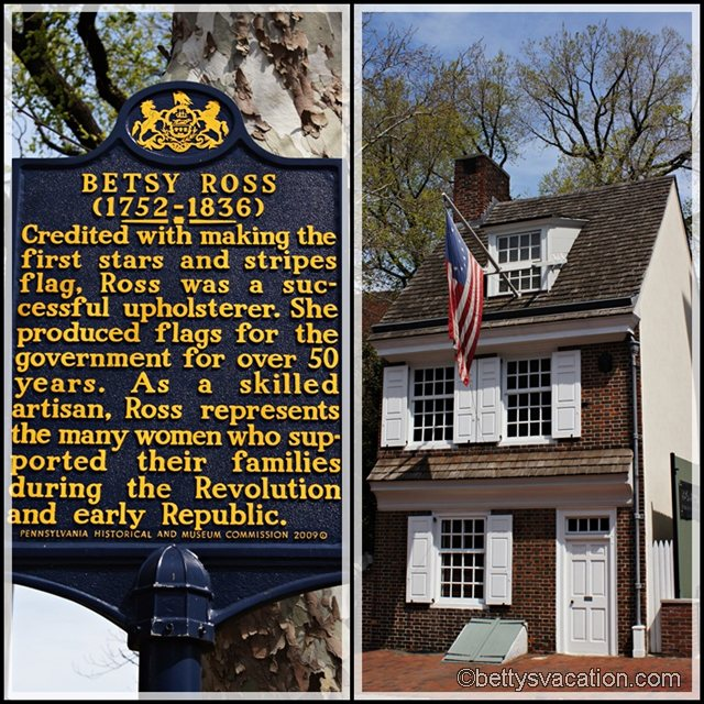 Collage Betsy Ross House
