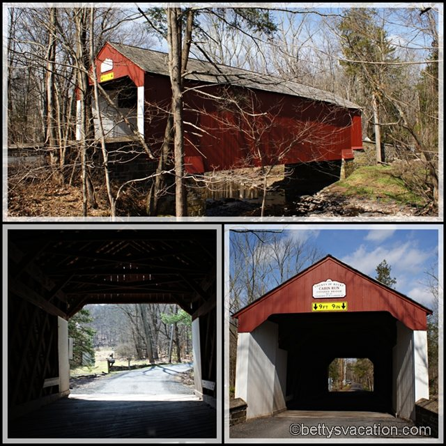 Collage Cabin Run Covered Bridge
