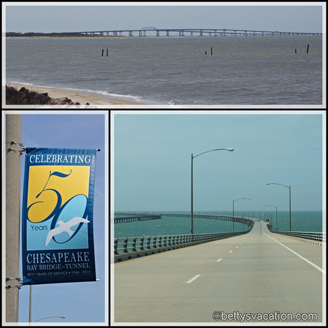 Collage Chesapeake Bay Bridge Tunnel 1