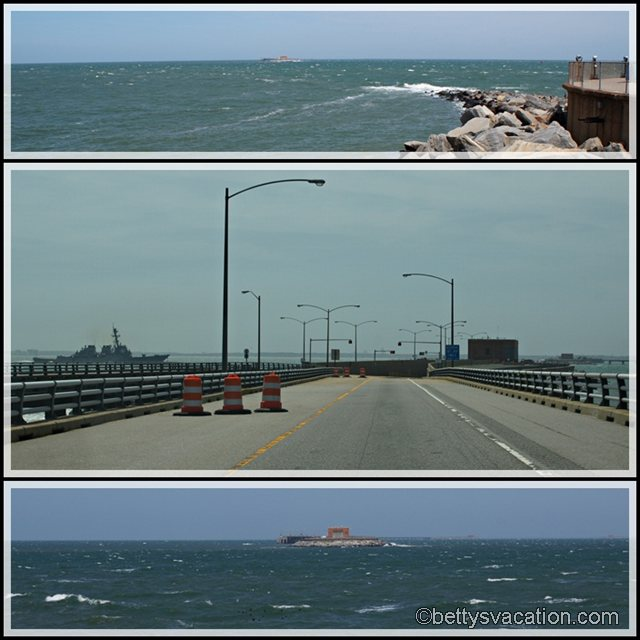 Collage Chesapeake Bay Bridge Tunnel 2