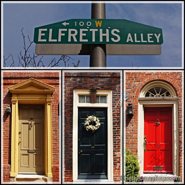 Collage Elfreths Alley 1