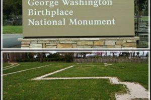 Collage George Washington Birthplace 1