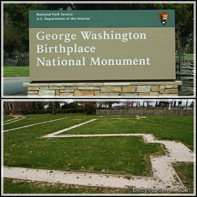 Collage George Washington Birthplace 1