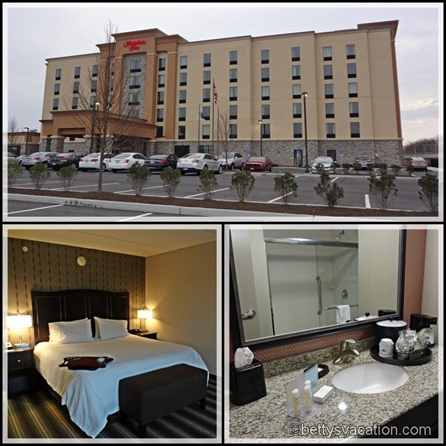 Collage Hampton Inn Neptune