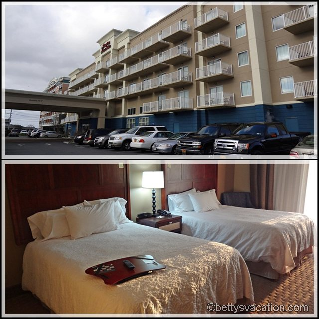 Collage Hampton Inn Ocean City 1