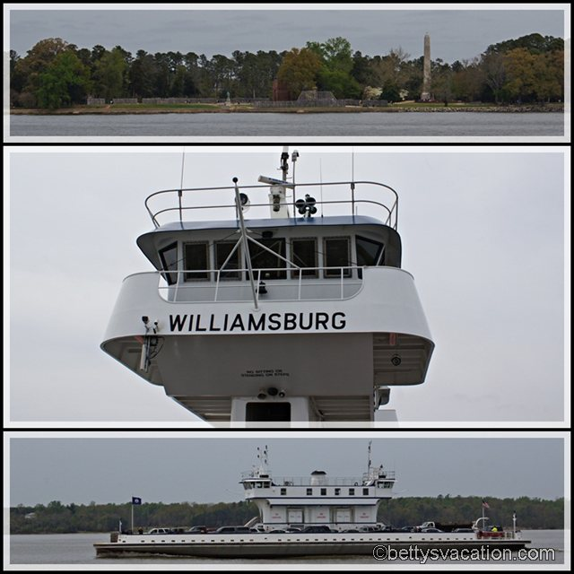 Collage James River Ferry