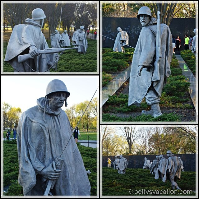 Collage Korean War Memorial 1