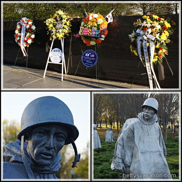 Collage Korean War Memorial 2