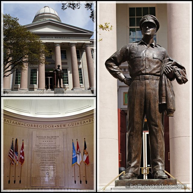 Collage MacArthur Memorial