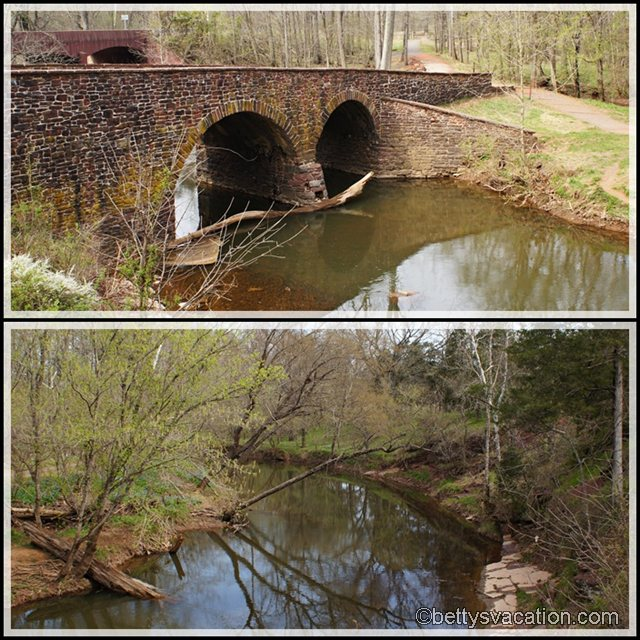 Collage Manassas Battlefield - Old Stone Bridge