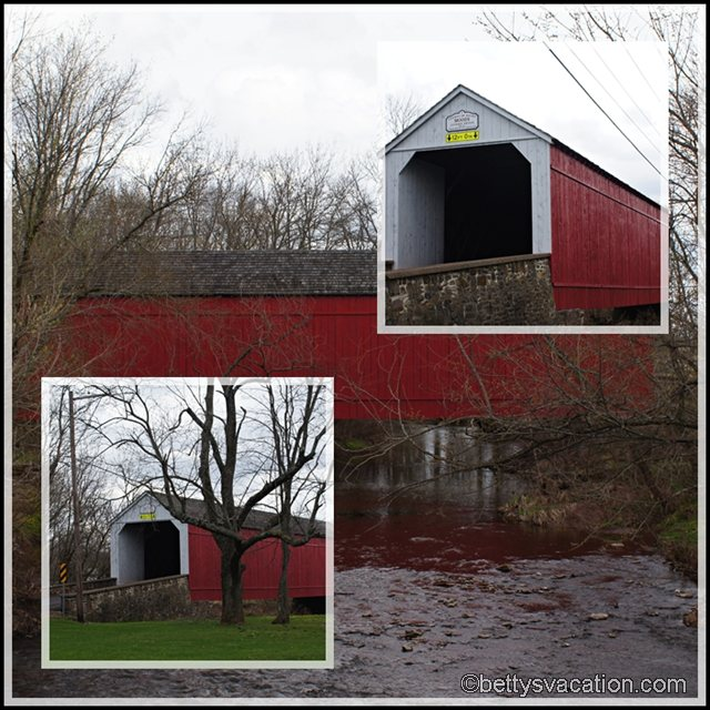 Collage Mood's Covered Bridge