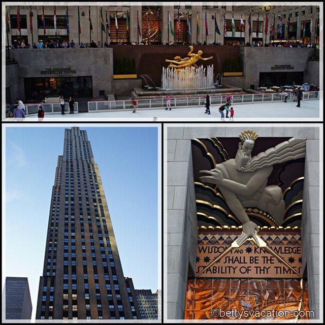 Collage Rockefeller Center