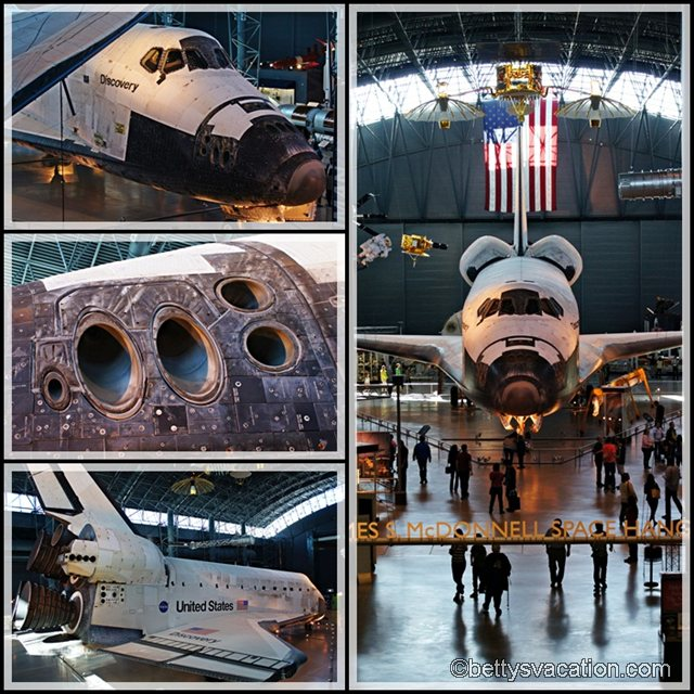 Collage Space Shuttle Discovery 1