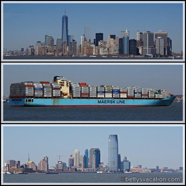 Collage Staten Island Ferry