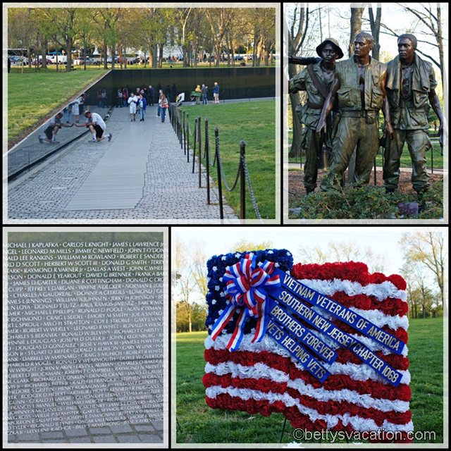 Collage Vietnam Memorial