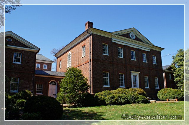 Hammond Harwood House 1