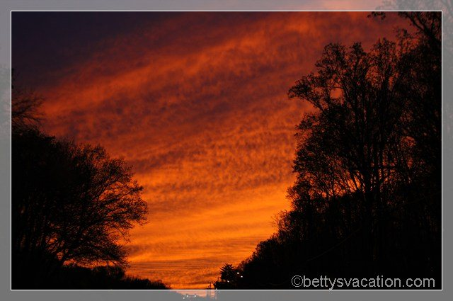 Sunset in Fairfax