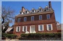 William Paca House, Annapolis, Maryland