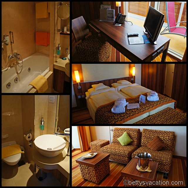 Collage AIDAbella - Suite