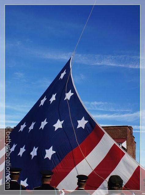 11 - Fahne hochziehen