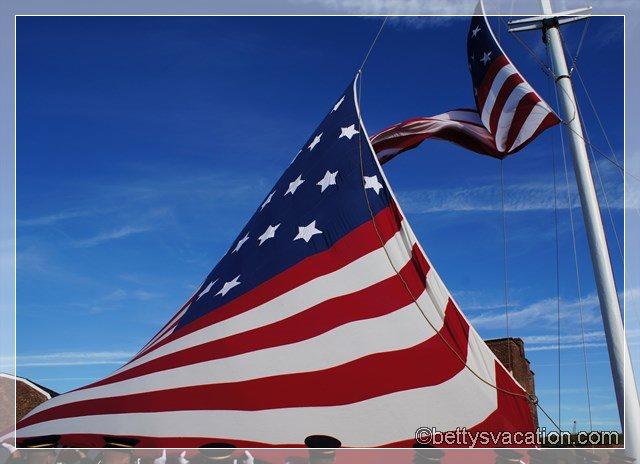 12 - Fahne hochziehen