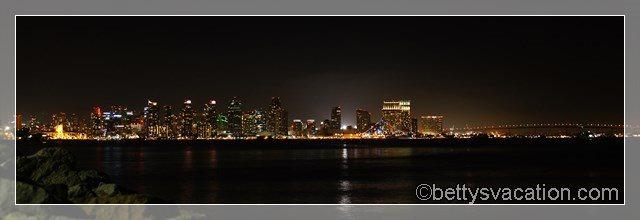 61 - San Diego by night