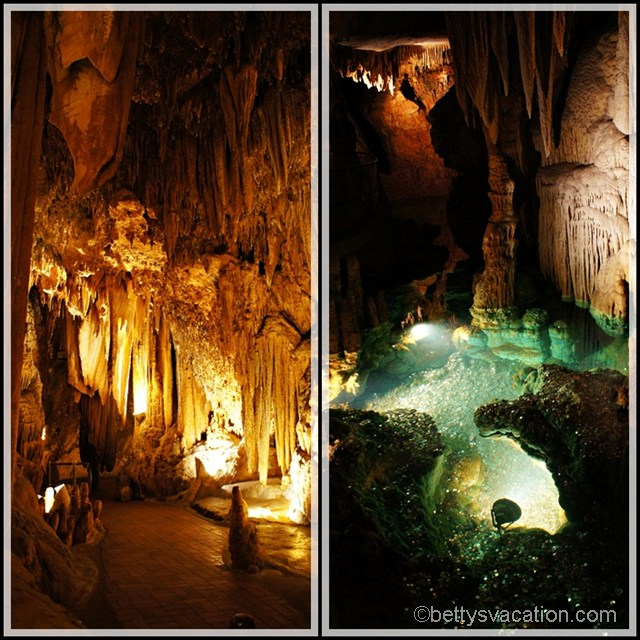 Collage 2 Luray Caverns