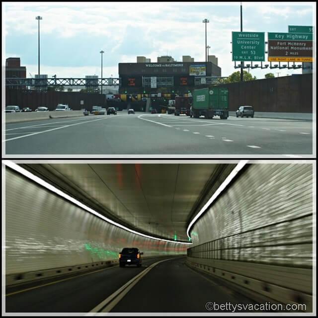 Collage Baltimore Harbor Tunnel