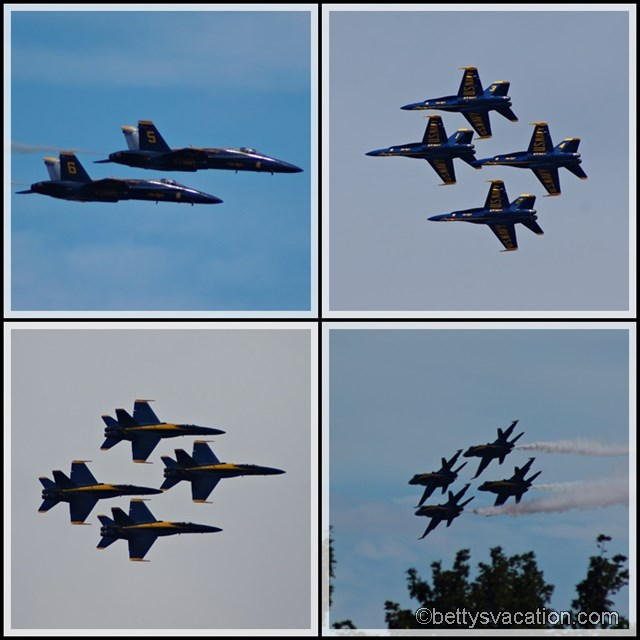 Collage Blue Angels