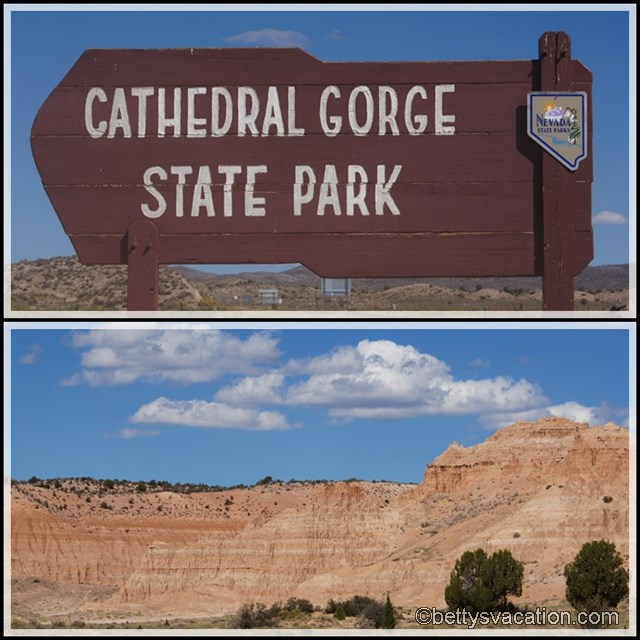 Collage Cathedral Gorge SP
