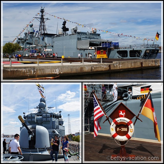 Collage Fregatte Niedersachsen 2