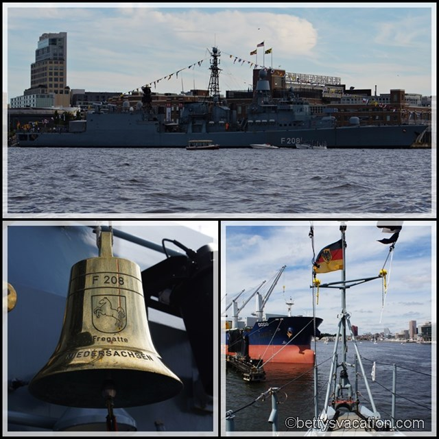 Collage Fregatte Niedersachsen