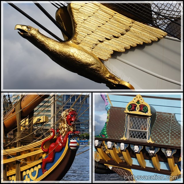 Collage Inner Harbor Ships