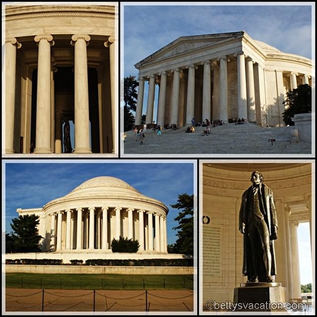 Collage Jefferson Memroial