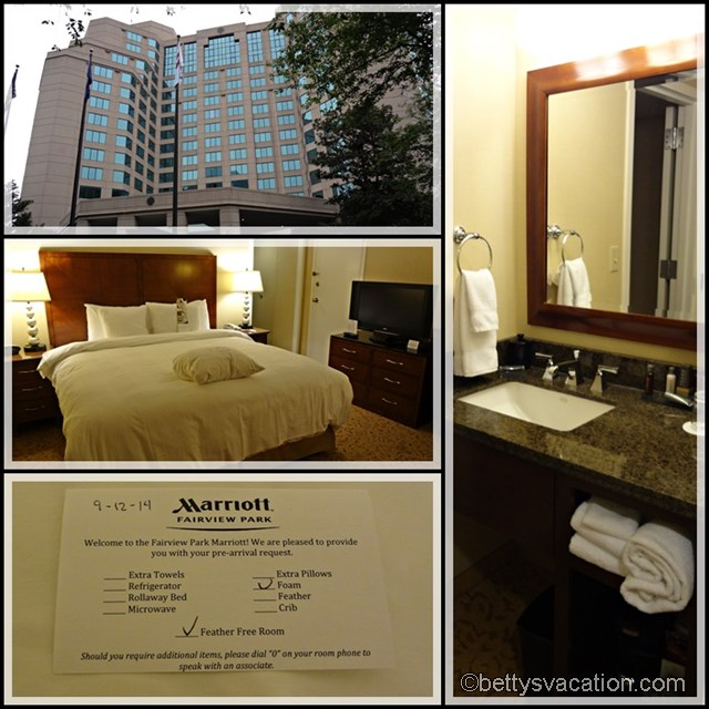 Collage Marriott Fairview Park