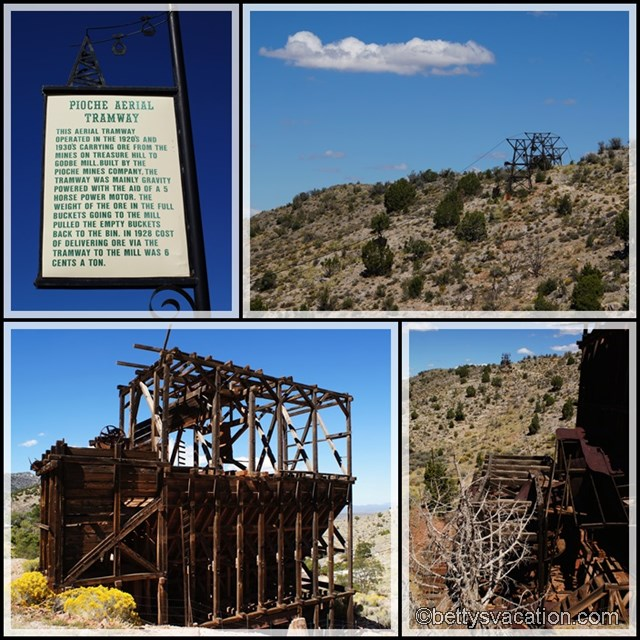 Collage Pioche Aerial Tramway