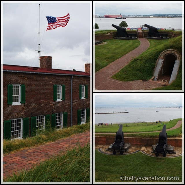 Collage Star Spangled-Banner Saturday Fort McHenry 2