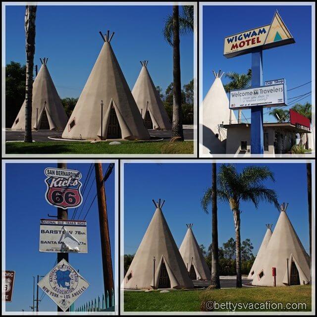 Collage Wigwam Motel