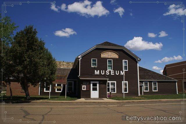 18 - Medora Court House & Museum