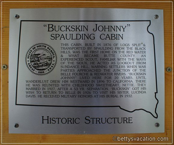 8 - Buckskin Cabin