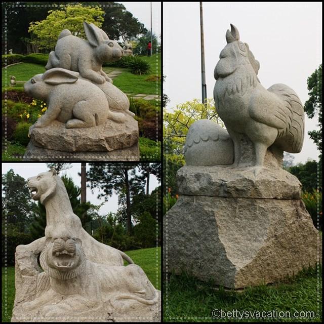 Collage Chinese Garden 1