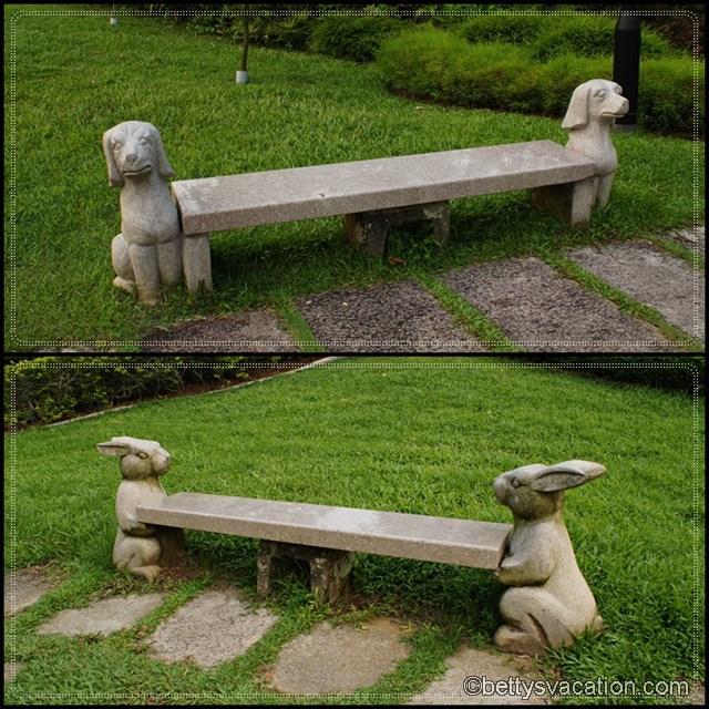 Collage Chinese Garden 2