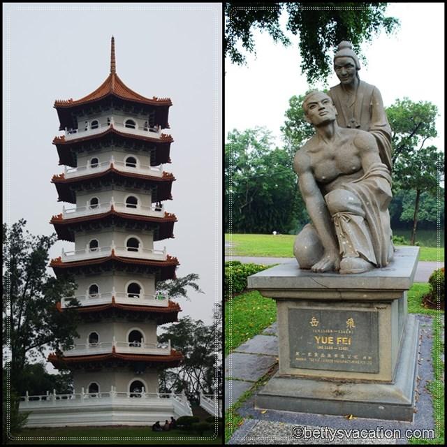 Collage Chinese Garden 4