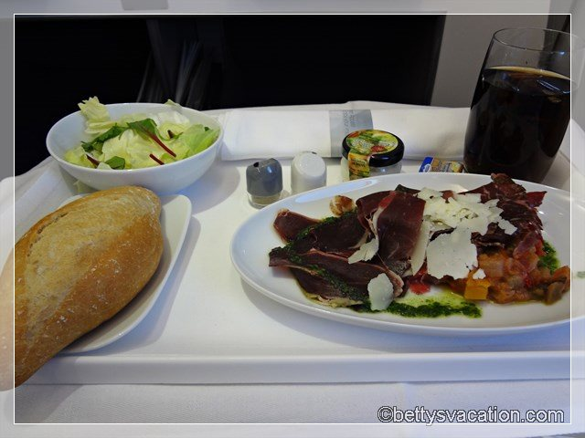 12 - Vorspeise LAX Flug