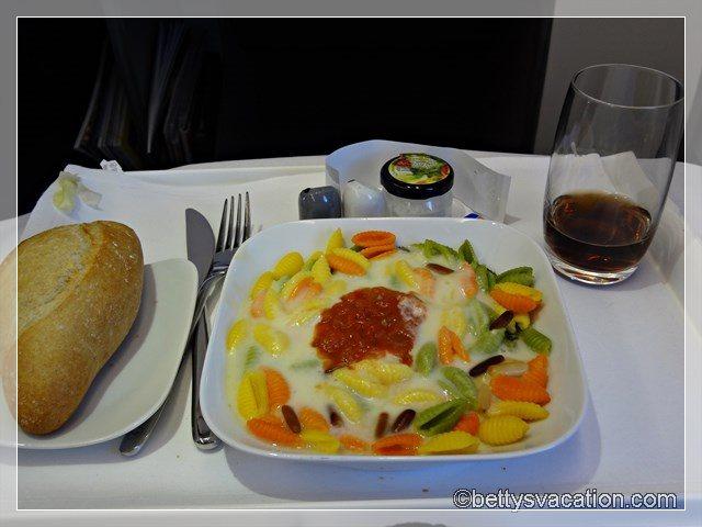 14 - Hauptspeise LAX Flug