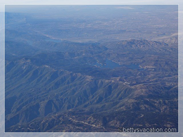28 - Lake Arrowhead from the Air